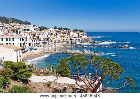 The Village Of Calella De Palafrugell (costa Brava, Catalonia, Spain)