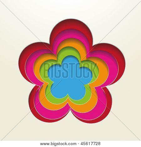Colorful Paper Flowerholes