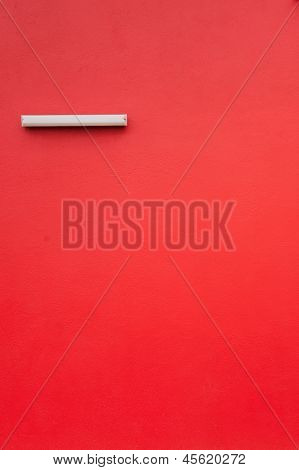 Red Textured Wall