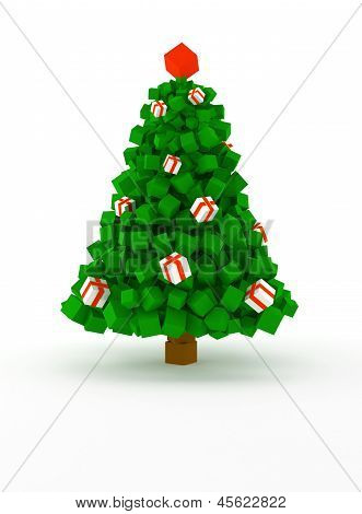 Cubic Christmas Tree