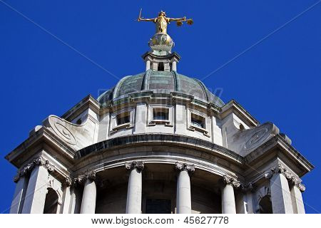 Old Bailey In London