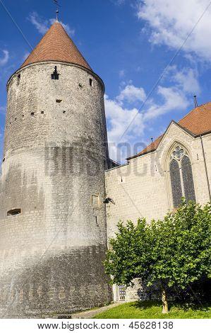 Castle Of Yverdon (switzerland)