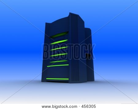 Blue Power Hosting Server