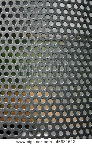 Metal Net Circle Texture Background Networks With Holes