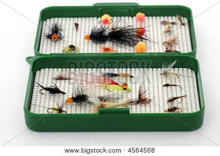 Tackle Box Of Flies