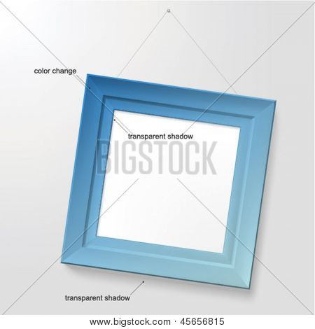 Color frame (color changeable)