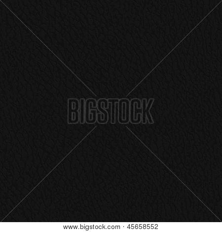Seamless black leather illustration - eps10