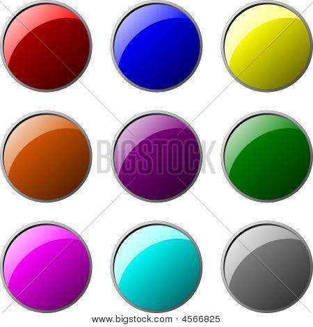 Button Circle Set 1