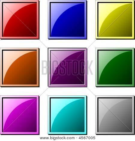 Button Square Set 1