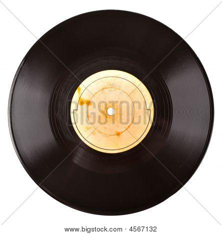 Old Vinil Record
