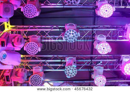 Novo equipamento de iluminação para clubes e salas de concerto do equipamento de iluminação da exposição