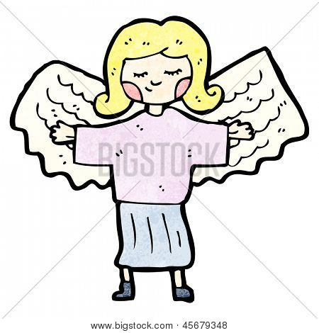 everyday angel cartoon