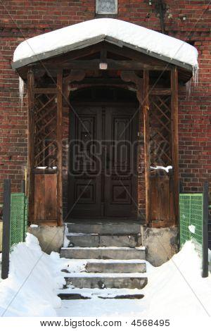 Winter Türen