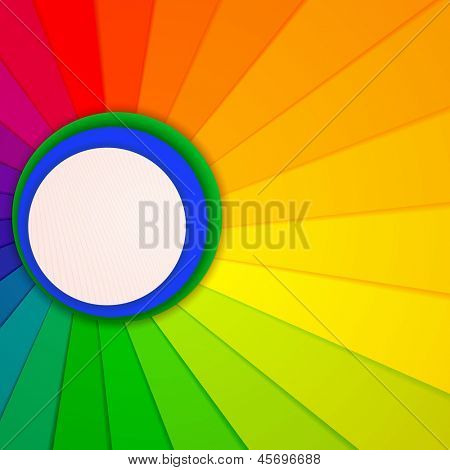 illustration of bright abstract background