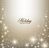 image of shimmer  - Elegant Christmas background with snowflakes and place for text - JPG
