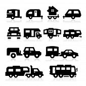picture of recreational vehicle  - Recreational Vehicles Icons - JPG