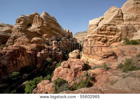 Landscape Of Dana National Park, Jordan