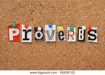 The word Proverbs