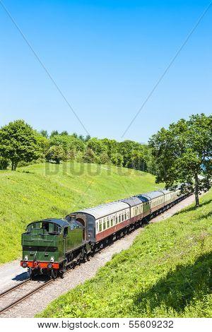 steam train, Gloucestershire Warwickshire Railway, Gloucestershire, England