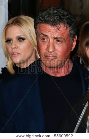 NEW YORK-DEC 16: Actor Sylvester Stallone attends the world premiere of