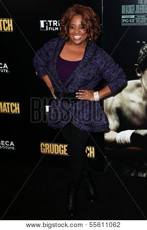 NEW YORK-DEC 16: TV host Sheri Shepherd attends the world premiere of