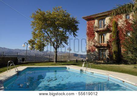 Pool In Ronda Hotel