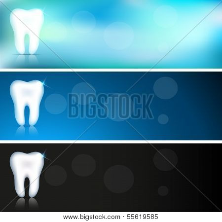 Tooth banners