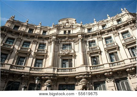 Building in Madrid