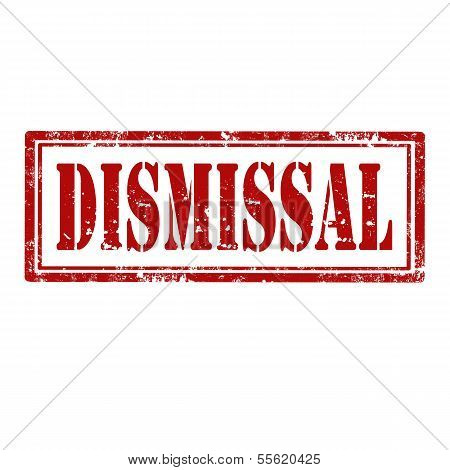 Dismissal-stamp