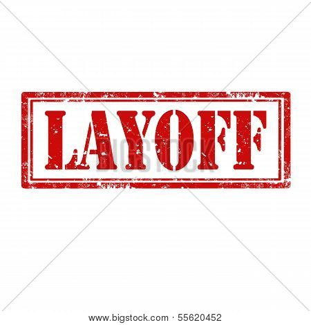 Layoff-stamp
