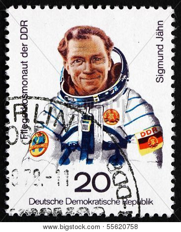 Postage Stamp Gdr 1978 Sigmund Jahn, 1St German Cosmonaut