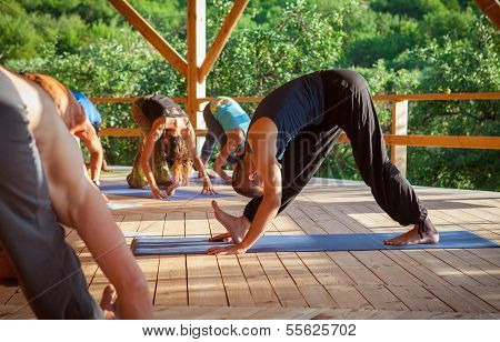 Group Practice Of Yoga