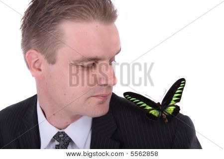 Manager And Butterfly