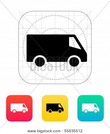 Delivery Minibus icon.