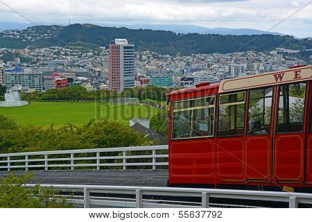 Kelburn Cable Car, Wellington New Zealand.