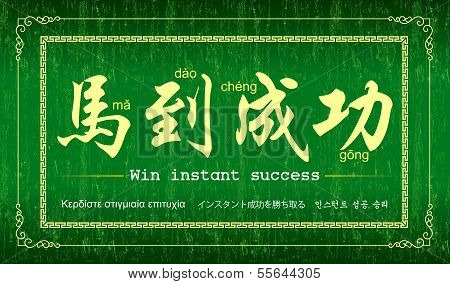 Year of the Horse (Achieve Immediate Success )