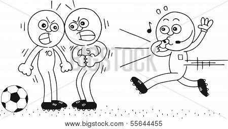 Referee Running