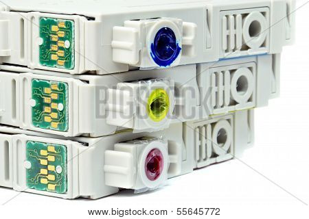 Used printer cartridges