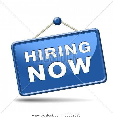 hiring now job opening search or jobs vacancy help wanted