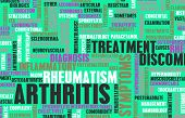 stock photo of medical condition  - Arthritis as a Medical Condition in Concept - JPG