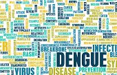 image of mosquito repellent  - Dengue Fever Concept as a Medical Disease Art - JPG