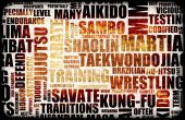 foto of jiujitsu  - Martial Arts Different Forms of Fighting Background - JPG
