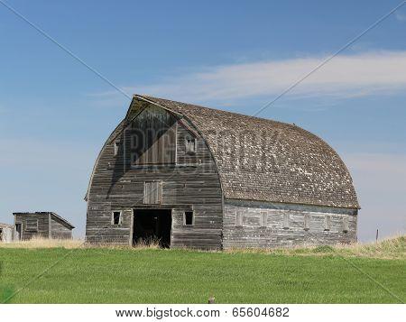 Sturdy Abandoned Barn