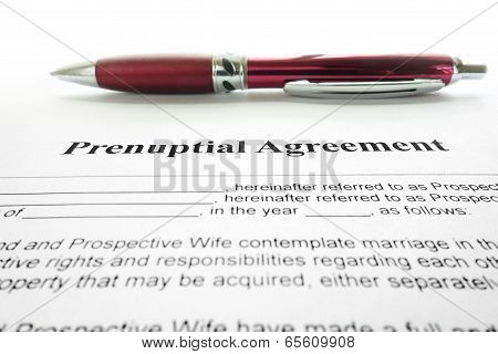 Prenup Agreement