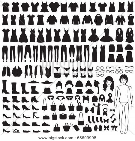 clothing silhouette