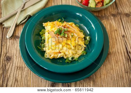 Macaroni Cheese Or Spatzle Egg Noodle