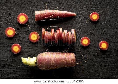 Organic Purple Heirloom Carrot