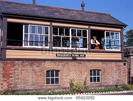 Signalbox, Severn Valley Railway.