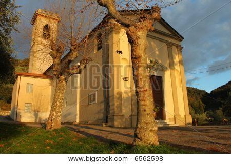 Old Italian chapel