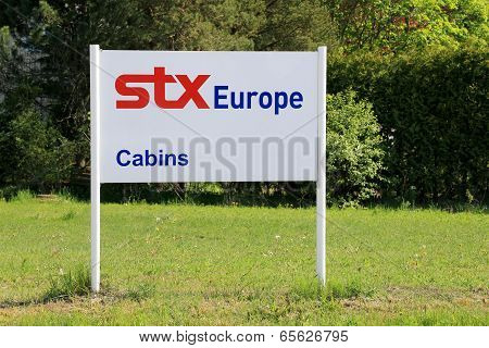 Sign STX Europe In Piikkio, Finland